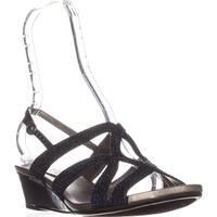 Bandolino Gomeisa Slingback Wedge Sandals, Navy