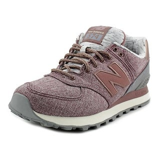 New Balance WL574 Women Canvas Pink Fashion Sneakers