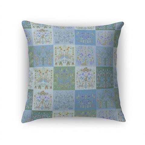 SCANDINAVIAN PATCHWORK PASTEL Accent Pillow By Kavka Designs