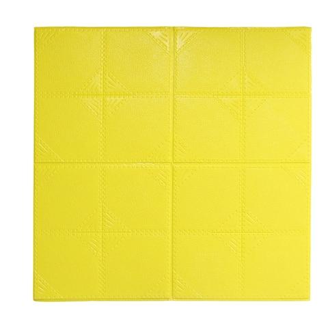 """3D Wall Panels 24""""x24"""" Foam Self-stick Wall Decoration Wall Tiles 2.88 Sq Ft"""