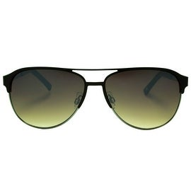 Mens Sunglasses Black Frame Brown Shades New In Style On Sale