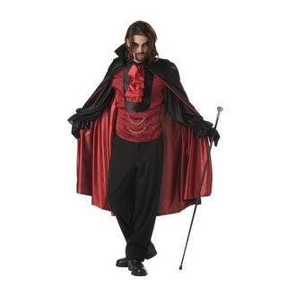 California Costumes Count Bloodthirst Adult Costume - Black/Red