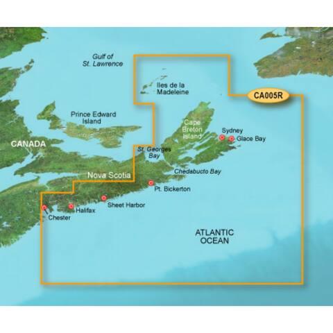 Garmin 010-C0692-00 Bluechart g2 vision VCA006R, P.E.I to Chaleur Bay (SD Card) - Blue