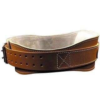 "Schiek Sports Model 2004 Leather 4 3/4"" Contour Weight Lifting Belt - brown"