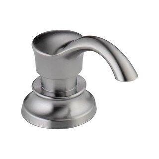 """Delta RP71543 Cassidy 3-1/2"""" Soap / Lotion Dispenser and Bottle - n/a"""