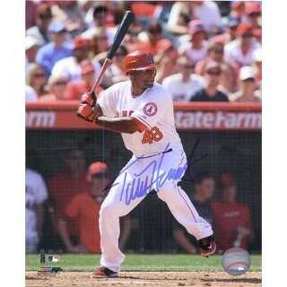 Signed Hunter Torii Los Angeles Angels 8x10 Photo autographed