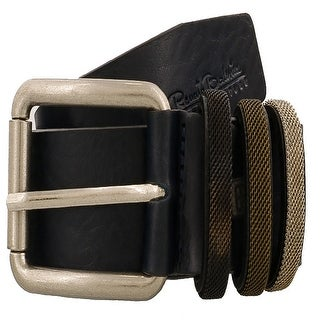 Renato Balestra Y043 BLU Navy Blue Leather Mens Belt