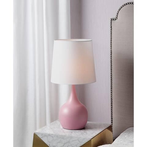 23.5 In. Niyor Powder Mid Century Touch Metal Table Lamp