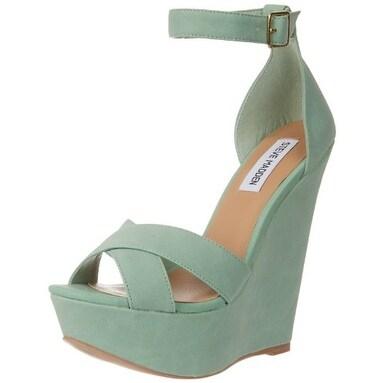 Steve Madden Womens Xenon Open Toe Casual Platform Sandals