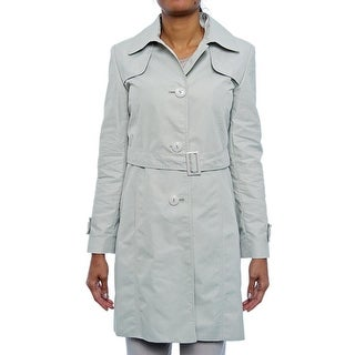 Cinzia Rocca  Button Up Trench Coat Trench Khaki