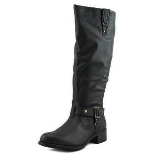 Rampage Iliya Wide Calf Women Black Boots