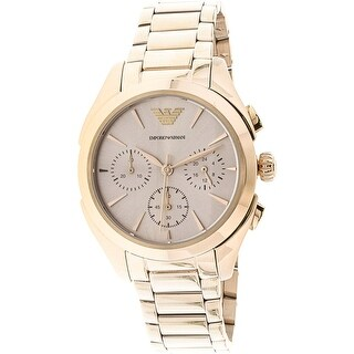 Emporio Armani Women's AR11051 Rose-Gold Stainless-Steel Fashion Watch