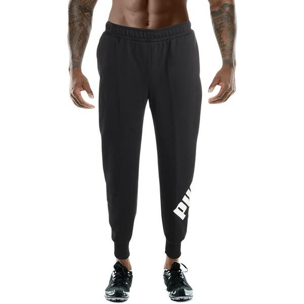 857411fe7ac3 Shop Puma Mens Big Logo Pant Sweatpants Lounge Athleisure - Free ...