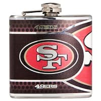 Great American Products San Francisco 49er's Flask Stainless Steel 6 oz. Flask