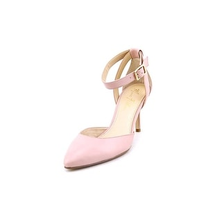 Marc Fisher Hien Women Pointed Toe Leather Pink Heels