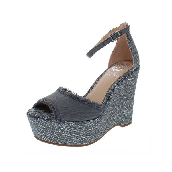 79ce2ddcf6f9 Shop Vince Camuto Womens Tatchen Wedges Heels - 6.5 Medium (B