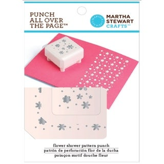 """Martha Stewart Punch All Over The Page Pattern Punch-Flower Shower, 1.5"""""""