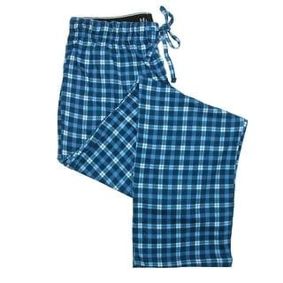 Hanes Men's Cotton ComfortSoft Printed Knit Pants