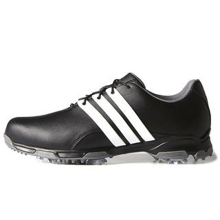 Adidas Men's Pure TRX Core Black/White/Dark Silver Metallic Golf Shoes F33238 / F33315 (More options available)