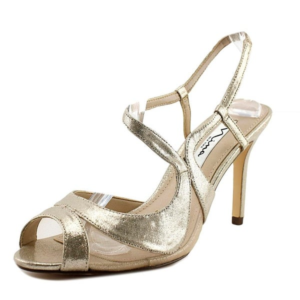 Nina Renee Taupe Reflect Sandals