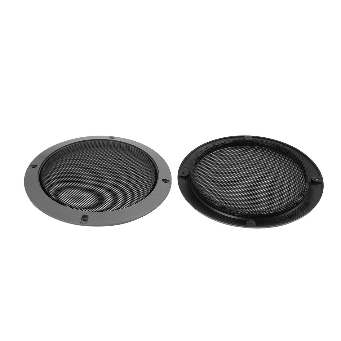 6.5 Inch Metal Car Audio Speaker Subwoofer Grill Cover Protector Round Black UK