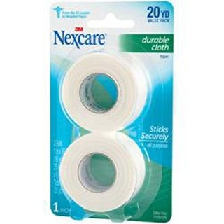 20yds - Nexcare Durable Cloth First Aid Tape 2/Pkg