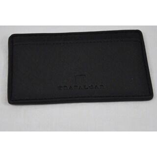 Trafalgar Mens Murray Hill 3120TFA2 Black Pass-Case Card Case Wallet