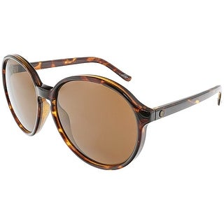 Electric Women's Riot EE14910639 Brown Oval Sunglasses