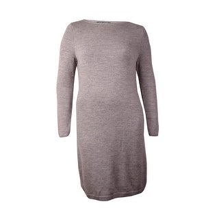 Lauren Ralph Lauren Women's Merino Wool Sweater Dress (XL, Heather Grey) - Heather Grey - xL