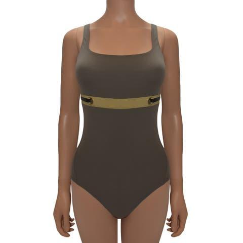 La Perla Olive One Piece Swimsuit 8