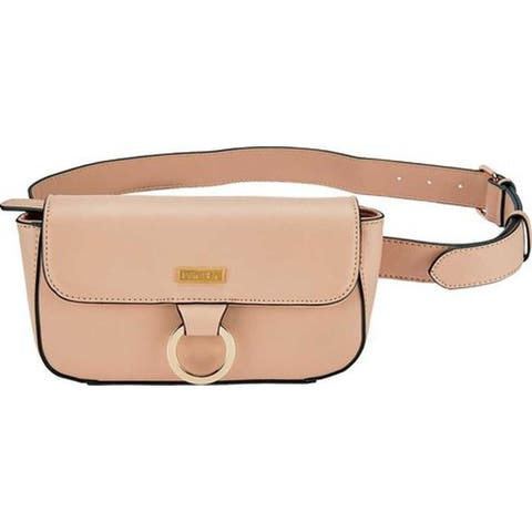 San Diego Hat Company Women's Faux Leather Belt Waist Pouch BSB3560 Blush - US Women's One Size (Size None)