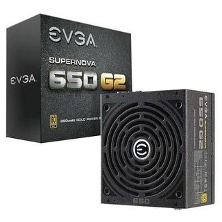 Evga 220-G2-0650-Y1 Supernova 650 G2 80 Plus Gold Rated Modular Power Supply