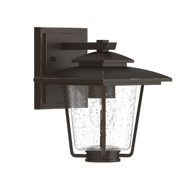 """Park Harbor PHEL1300 Ivy Cottage 9"""" Tall 1-Light Outdoor Wall Sconce - Oil Rubbed bronze - n/a"""