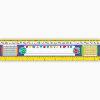 (3 Pk) Reference Size Name Plates Gr 2-3 Zaner-Bloser Desk Toppers