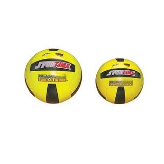Sportime Light-Weight Regulation Size Econ-O-Trainer II, High Optic Yellow/Black Panel