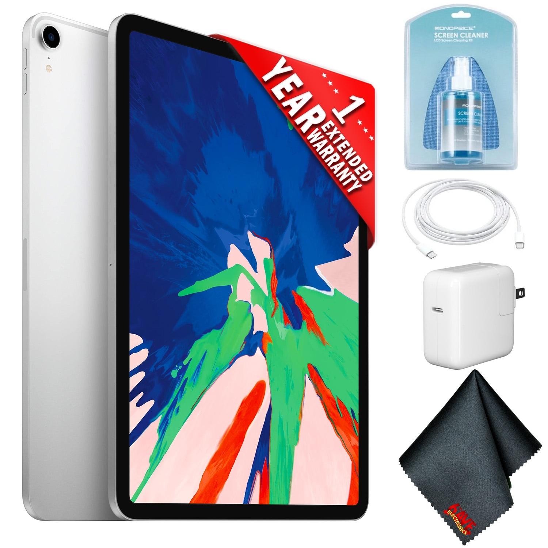 Apple 11 IPad Pro 2018 Plus Extended Warranty Newest Model WiFi - Space Gray - 256 GB