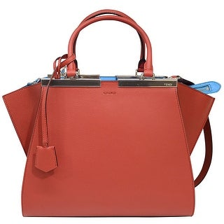Fendi 3 Jours Small Leather Shopper Handbag
