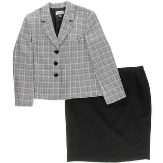 Le Suit Womens Torino Tweed 2PC Skirt Suit