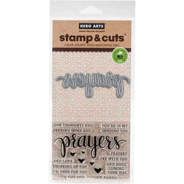 Hero Arts Stamp & Cuts-Prayers