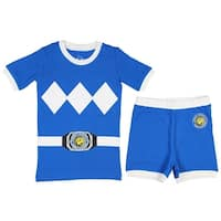 Power Rangers Little & Big Boys Character Cotton Pajamas