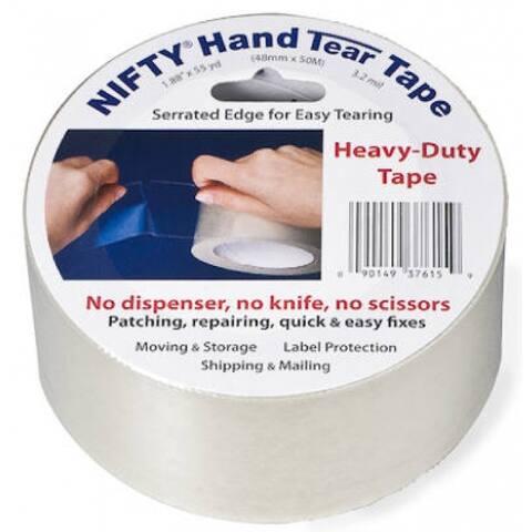 """Nifty Hand Tear Tape 1.88"""" x 55 YD"""