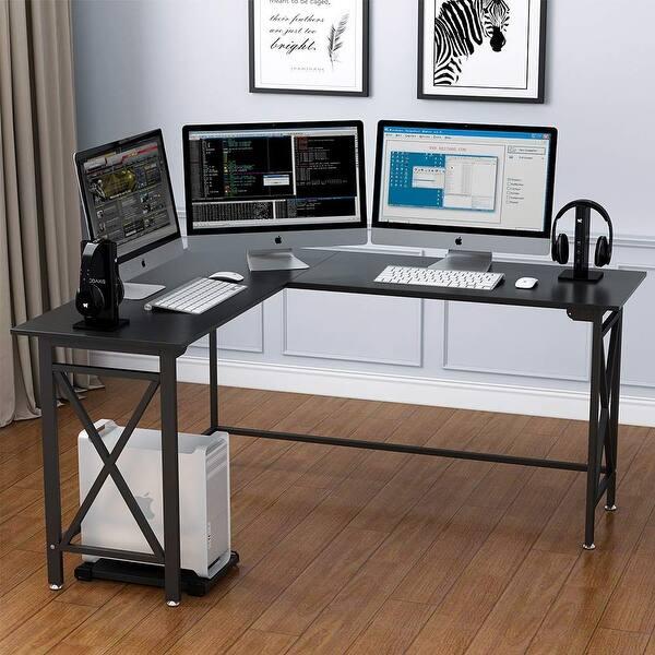 Shop Large L-Shaped Desk 67\