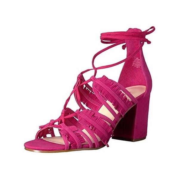 Nine West Womens Genie Dress Sandals Suede Open Toe