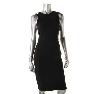 French Connection Womens Whisper Cutout Sleeveless Cocktail Dress