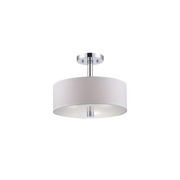 Designers Fountain 84511 Cordova 3 Light Semi-Flush Ceiling Fixture
