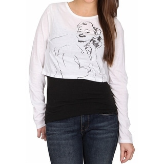 Norma Jeane 'Happy Crop' Ladies Top