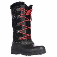 Sporto Connie Tall Water Resistant Winter Boots, Black