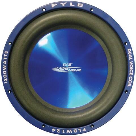"""SUBWOOFER 12"""" PYLE BLUE WAVE 1200 WATTS; DVC; 70oz MAGNET"""