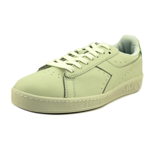 956ebf9831 Shop Diadora Game L Low Camo Men Round Toe Leather White Sneakers ...
