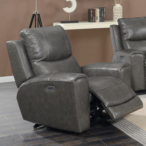 Copper Grove Fyti Top Grain Leather Power Reclining Chair